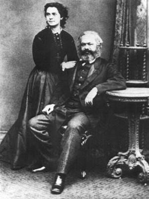 Jenny and Karl Marx