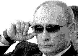 putin in glasses