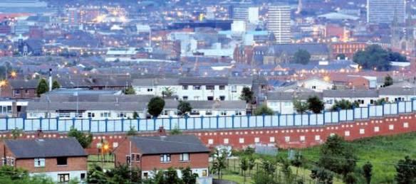 Belfast Peace Wall (Belfast Telegraph)